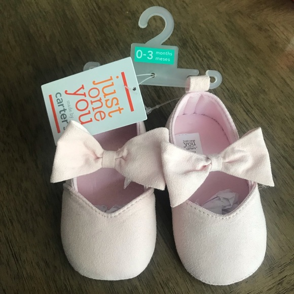 Carter's Other - Pink Ballet Slippers 0-3 Months